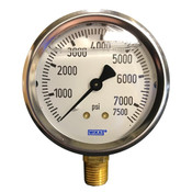 "WIKA 2.5"" Air Pressure Gauge 7500PSI"