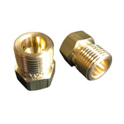 CGA 346 BRASS NUT ADAPTER M x F - 2216PSI