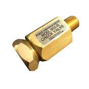 "955-R CHECK VALVE - FEMALE TO MALE FLOW 6000PSI - 1/4"" NPT - AQUA ENVIRONMENT"