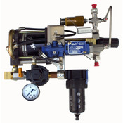 O2 Haskel Booster Pump - Air Driven