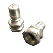 H2-63-T6 QUICK DISCONNECT NIPPLE - FEMALE PIPE THREAD - 5000PSI