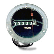 Hour Meter 120VAC Hole Size 2 INCH
