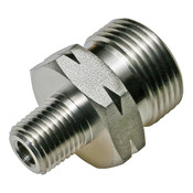 CGA 677 X 1/4 MNPT Stainless Steel Adapter 6000 PSI